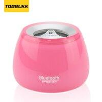 Новый Портативный мини Беспроводной Bluetooth Динамик с микрофоном розовый Колонка музыкальный плеер Bluetooth Altavoz приемник s-608
