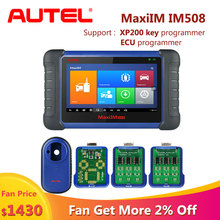 цена на Autel MaxiIM IM508 OBD2 Car Diagnostic Auto Scanner Engine Tool ECU XP200 Key Programming scania scaner automotriz profesional
