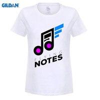 GILDAN MUSIC NOTES Design New Women S T Shirt Short Sleeve T Shirt Cotton Rock Rap