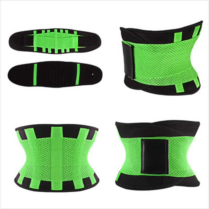 Men Women Sports Slimming Belt Fat Burning Slimming Wraps Weight Loss Bandage Bound Band Waist Back Belt Support Body Shaper B47