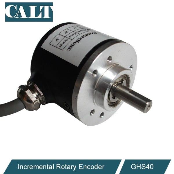 CALT sensor optical incremental encoder DIY custom Replace for Totem pole rotary encoder E40S6 series free shipping ghs38 series incremental optical dightal encoder 1024 pulse sensor similar to rotary encoder e6b2