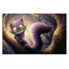 YIKEE Cheshire Cat Diamond Painting Full Square/Round Drill Diamond Embroidery Picture Of Rhinestones Beadwork   h1572 yikee diamond painting full square dogs 5d full square round drill picture of rhinestones beadwork h1468