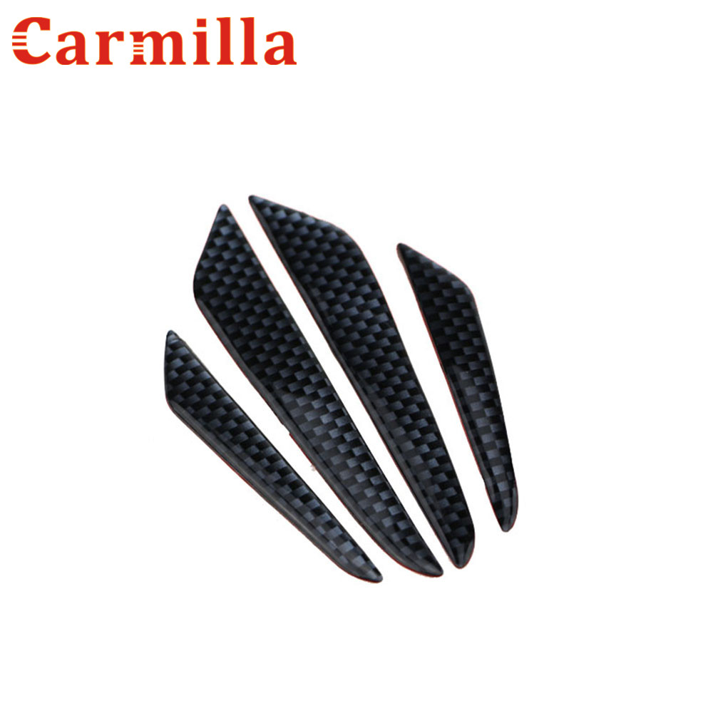 Carmilla Car Door Edge Guards Trim Molding Protection Strip For Nissan Qashqai Juke Shiro NV200 Note Pathfinder Leaf X-Trail