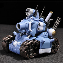 YH Metal Slug Super Vehicle SV 001 tank model movable inner structure Blue or Grey