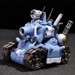 Image 1 - YH Metal Slug Super Voertuig SV 001 tank model beweegbare innerlijke structuur Blauw of Grijs