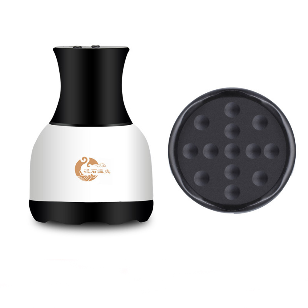 New Electric Guasha Massager Stimulate Acupoint Detoxification Massage Scraper Meridian Dredging Magnetic Scraping Therapy