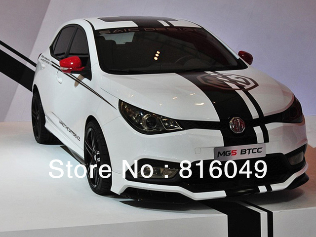 Morris garages mg3 mg5 mg6 car body stickers custom luxury car stickers personalized car