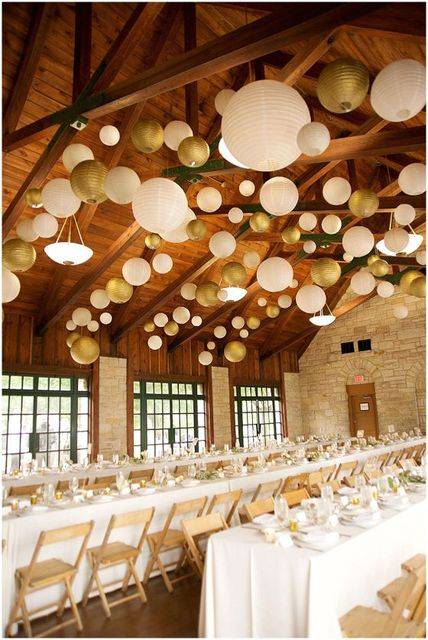 1pc 20cm Metallic Gold Silver Chinese Paper Lanterns Party Decors Wedding Home Garden Festival Birthday