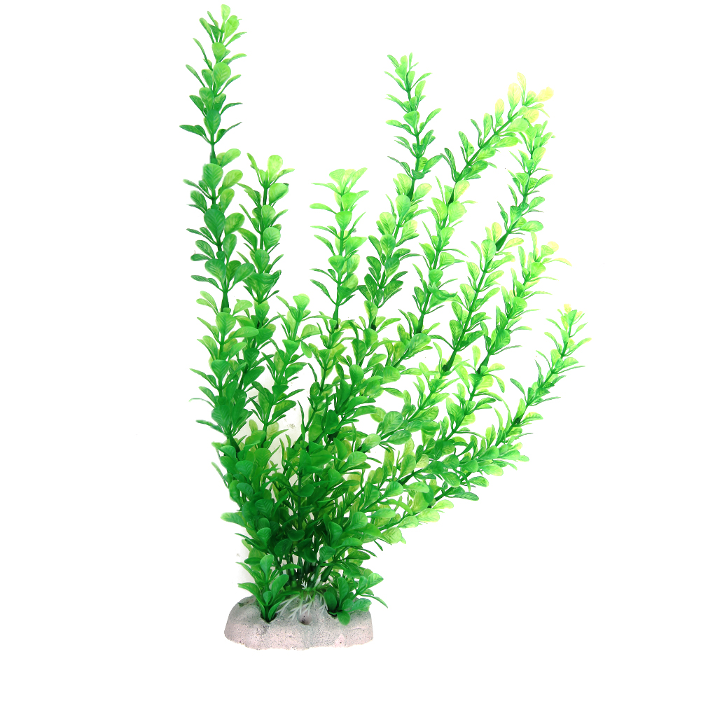 Plastic Grass Aquarium Decorations Green Artificial Plant Grass Fish Tank Aquarium Ornament Decor Water Weed Ornament