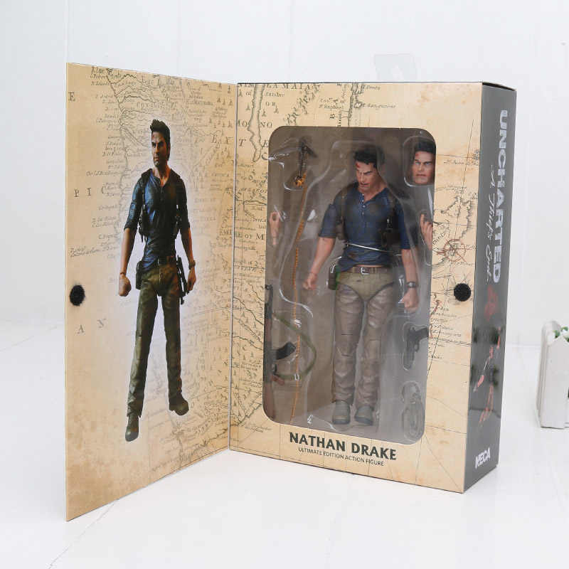 15 cm Movie NECA Uncharted 4 EEN dief's end NATHAN DRAKE Ultimate Edition Action Figure PVC Collectible Model Toy