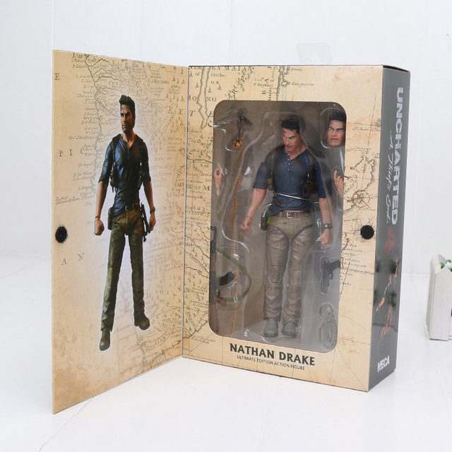 15 centímetros Filme NECA 4 final de UM ladrão NATHAN DRAKE Uncharted Ultimate Edition Collectible Modelo Toy Action Figure PVC