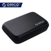 ORICO 2.5 Hard Disk Case Draagbare HDD Bescherming Zak voor Externe 2.5 inch Harde Schijf/Oortelefoon/U Disk harde Schijf Case Black