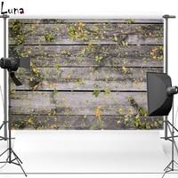 7X10ft Wood Floor Floral Vinyl Photography Background Backdrops for Wedding photo studio Floor568