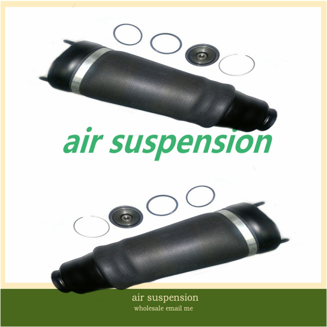 pair for Mercedes-Benz W251 S320 S350 S450 S500 repair kit air bag below shock absorber air suspension spring strut shocks