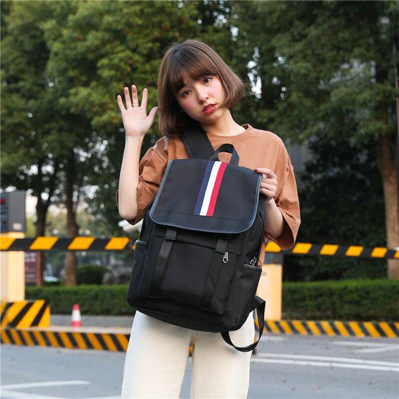 Mochilas Mujer 2018 School Backpack For Girl Simple Design Minimalist Women Backpack Shoulder Bag Female Rucksack Bagpack Mochil