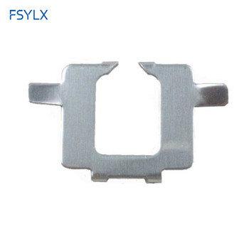 FSYLX H7 Xenon HID headlight Bulb Holder Adaptor Metal Clips Retainer For BMW X5 Xenon Car HID H7 Bulb Holder Adapter Clips image