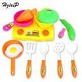 HziriP 2017 New Plastic Kitchen Fruit Vegetable Cutting Kids Pretend Play Educational Toy Baby Kitchen Toys Set Free Shipping