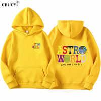 ASTROWORLD look mama ich kann fly hoodie Travis Scott Astroworld hoodie 2019 Geschenk Druck männer Hip Hop Pullover Sweatshirt