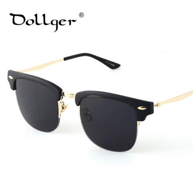 Dollger De Los Sol Hombresmujeres Moda Espejo Gafas j4LA53R