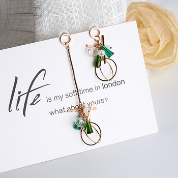 Asymmetry Temperament Earrings
