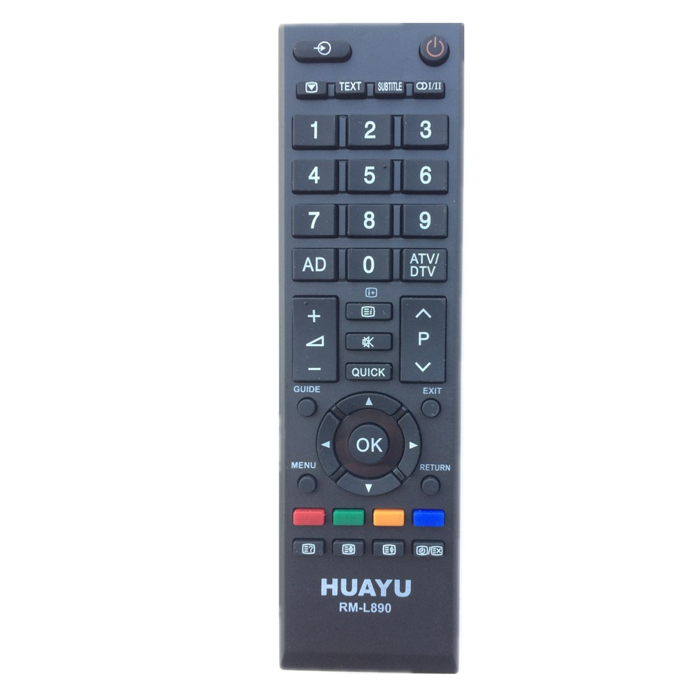 RM-L890 Remote Control For Toshiba LED TV Replace CT-10000 C