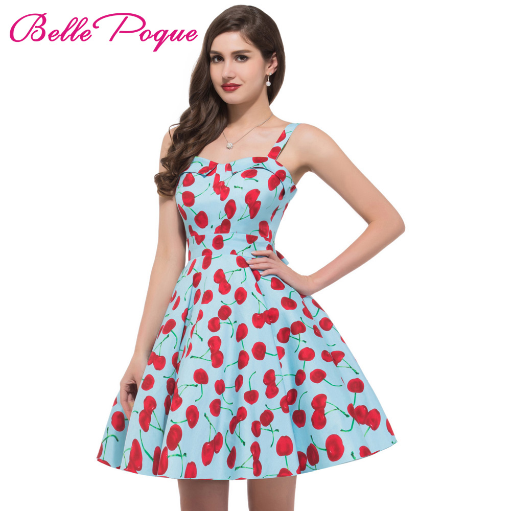 50s 60s Swing Pinup Dresses 2017 Belle Poque New Fashion ...
