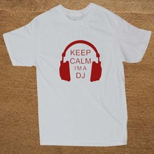 """New Keep Calm, I'm A DJ"" men's t-shirt"