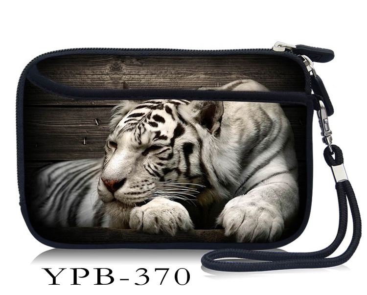 Tiger 2 5 inch external hard drive case bag Carry Bag Cover For 2 5 HDD