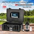 """HD 650TVL Câmera Subaquática Da Pesca de 360 graus de Rotação 7 """"CCD LCD Fishfinder Inventor Dos Peixes Detector de Peixe À Prova D' Água"""