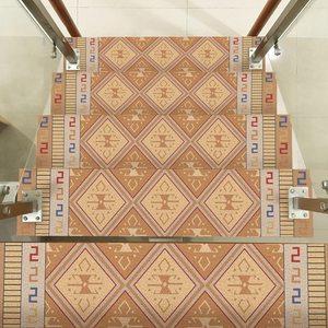Image 5 - ホットアラビアスタイルタイルステッカー 4 Pc セット送料糊階段ステッカータイルステッカー浴室 · 台所タイルデカール簡単に