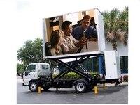 Монитор/оболочка корпус/кронштейны/держатель для P6 открытый мобильный светодио дный дисплей на грузовик P6 полноцветный видеостена