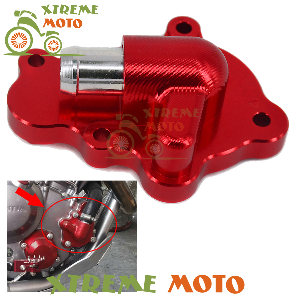 CNC Billet Red Motorcycle Water Pump Cover Protector For Honda CRF 250 L M CRF250L CRF250M 2012 2013 2014 2015