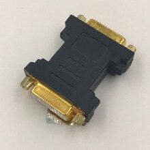 DVI adaptör Dişi dönüştürücü Altın Kaplama DVI 24 + 5 F F Konektörü Yüksek Kalite DVI Dişi kadın Marangoz