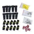 ¡ Promoción! 10 Kit 2 Pin Way Impermeable del Alambre Eléctrico Enchufe Conector