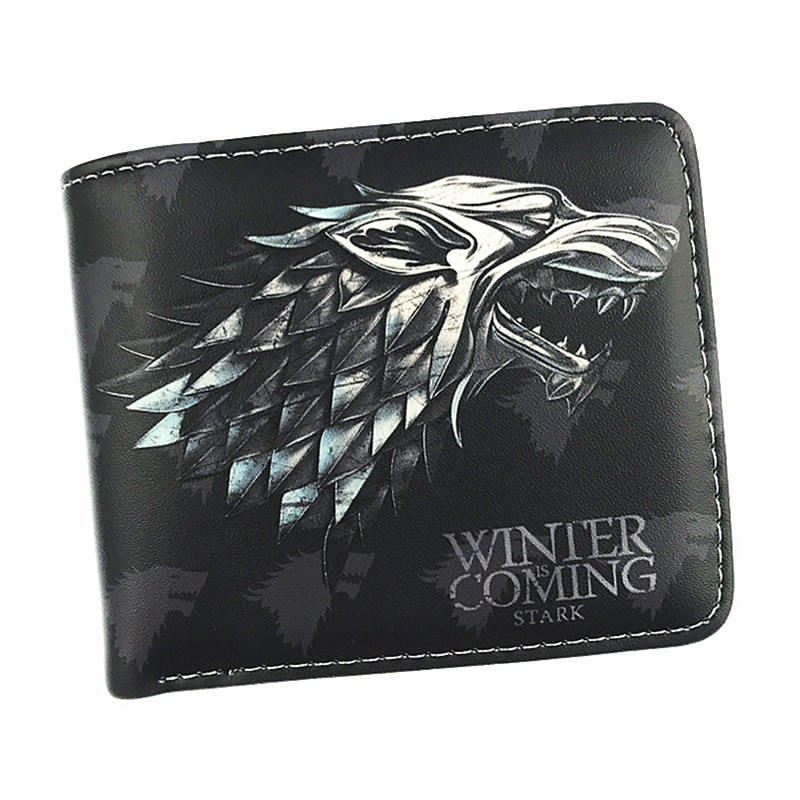 Free Shipping Game of Thrones Wallet House Stark/House Targaryen/House Lannister Nine Style Short Purse With Coin Pocket Wallets