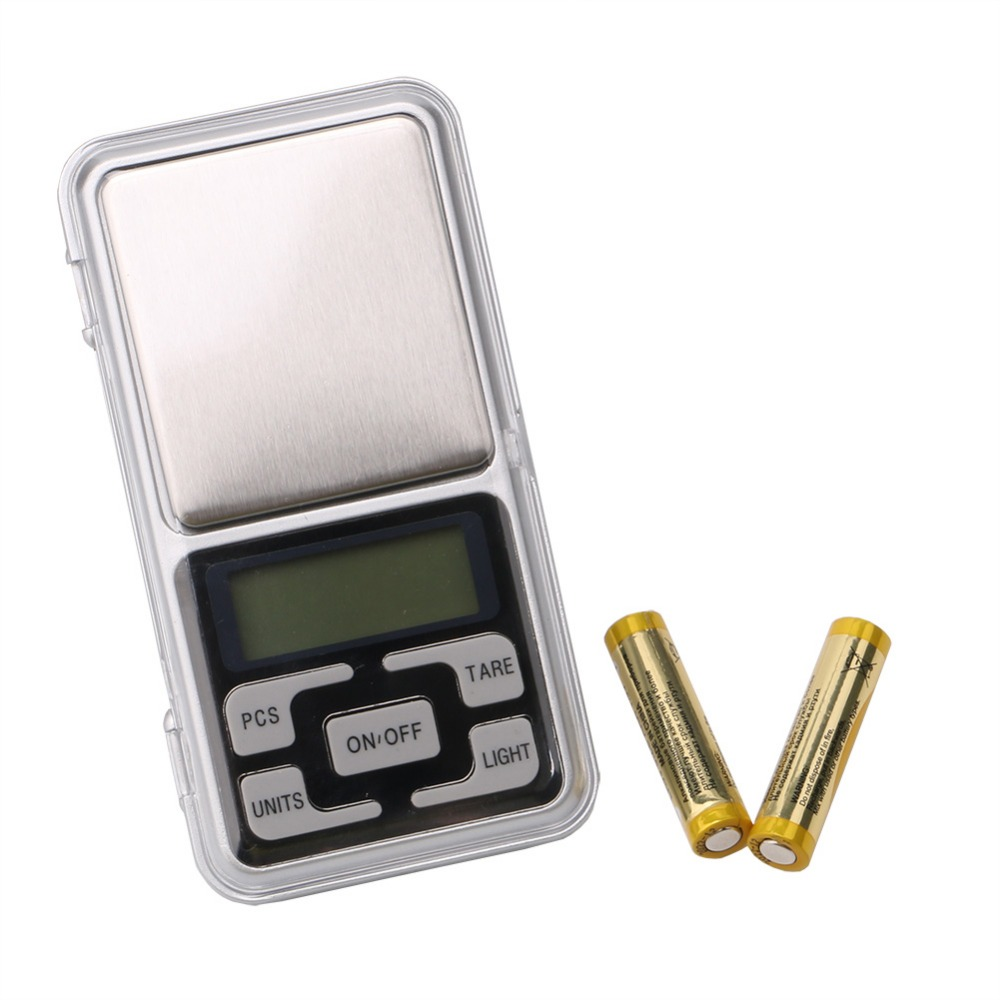 200g 0.01g Portable Pocket Scale with battery Mini LCD Electronic Digital Jewelry Balance Scale Precision Weighing Scale Tool