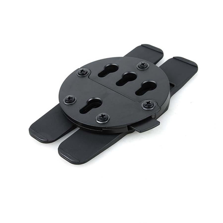Tactical Airsoft Hunting TMC GC Mount System Wheel With PALS Hang Adapter MOLLE Webbing Fixed Panel BK/DE