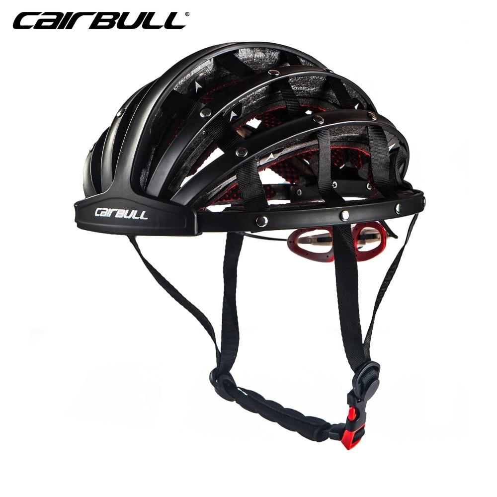 Bicycle Folding Helmets Ultralight Women Men Cycling Helmets Road MTB Sport Helmet