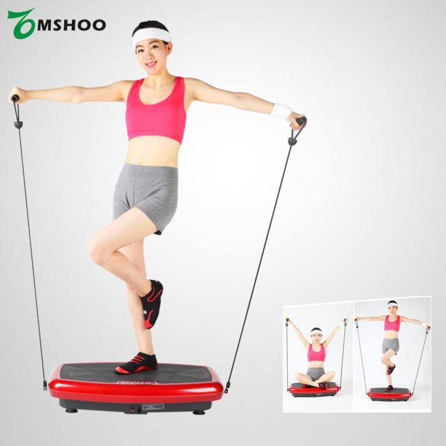 156cb2ae50334 TOMSHOO Whole Body Vibration Platform Plate Fitness Machine Workout Trainer  Hips Muscle Weight Loss Exercise Equipment