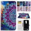 Wallet Flip Stand Oil Painting Pattern PU Leather Case For ZTE ZMax Z Max Pro Z981 Z 981 6.0'' inch Cover Funda Coque Bags B05