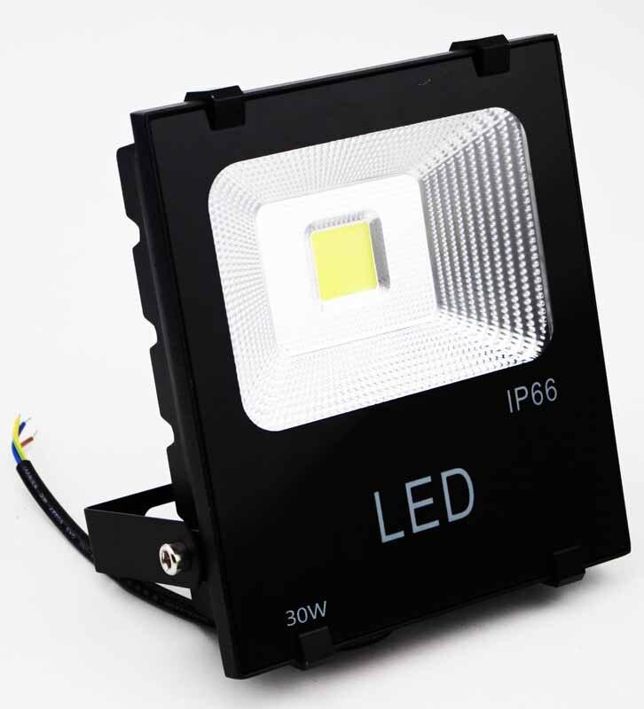 30 Вт Светодиодный прожектор Открытый, 150 Вт ГЭС лампы эквивалент IP66 <font><b>2500</b></font> люмен 6000 К дневной белый прожектор приспособление ценных