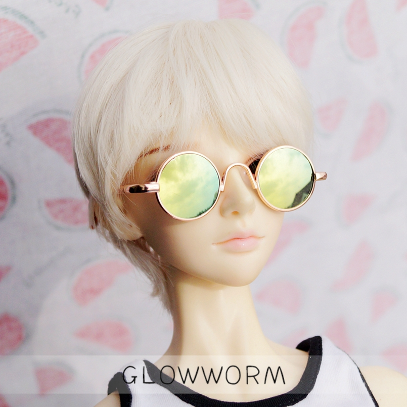 "Black Frame Glasses Bookman for 1//4 17/"" BJD MSD DK DZ VOLKS dollfie photograph"