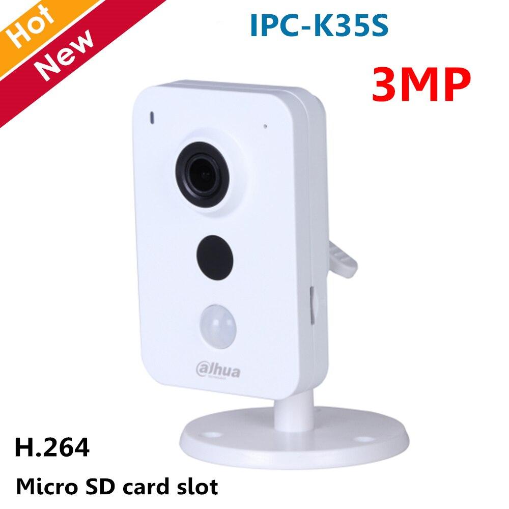 Dahua Câmera IP wi-fi IPC-K35S Wi-fi Câmera Série K Dual Band 1/3 CMOS 2304x1296 apoio Easy4ip nuvem e cartão SD de até 128 GB