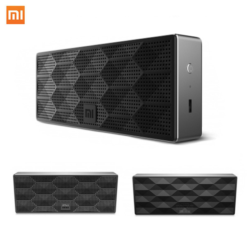 100 original xiaomi mi bluetooth speaker box portable wirelee square sound box speaker for. Black Bedroom Furniture Sets. Home Design Ideas