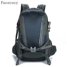 Facecozy Unisex Outdoor Camping Mountaineering Hiking Backpack Travel Backpack Men&Women Big Capacity Waterproof Sports Bag
