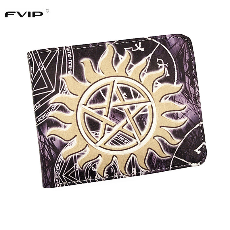 FVIP Movie Wallet Supernatural Once Upon A Time Back To The Future Black Butler Game Portal Wallet With Card Holder Dollar Price карточки для настольных игр every board game once upon time