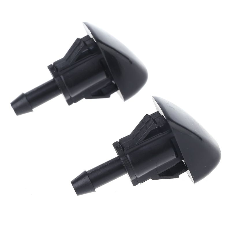 2Pcs Windshield Wiper Washer Spray Nozzle For Hyundai Accent Elantra Sonata Tiburon Kia Optima Amanti Rio Spectra 2004