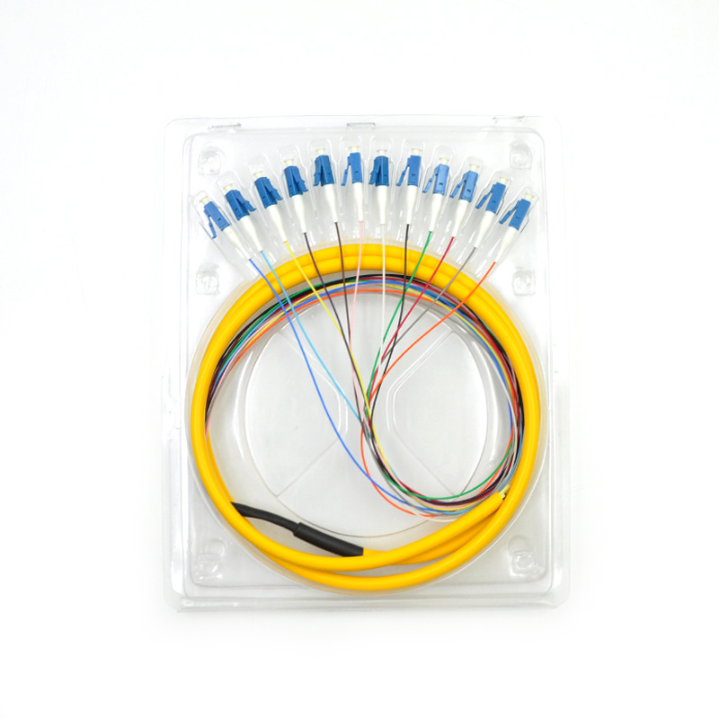 Image 3 - 12 Strand 9/125 Fiber Optic Pigtail 3m LC/UPC Single Mode-in Fiber Optic Equipments from Cellphones & Telecommunications