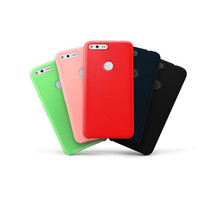 For Google Pixel XL CASE With Protector shell Soft Liquid silicone Phone Back Cover Coque