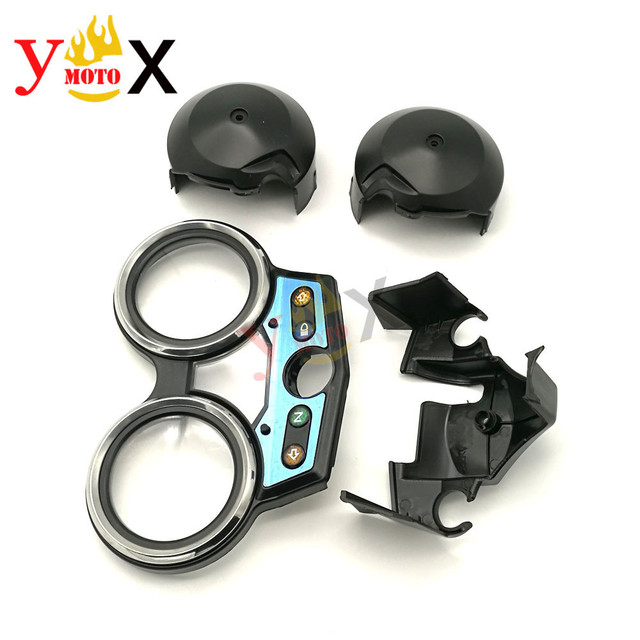 For Honda CB400 VTEC I 1999 2000-2001 Instrument Gauges Cover Speedometer Tachometer Housing Case Odometer Motorcycle CB 400 99
